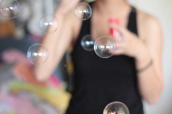 pexel bubbles