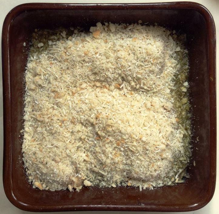parmesan chicken uncooked